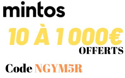 1000€ offerts via l'invitation code Mintos