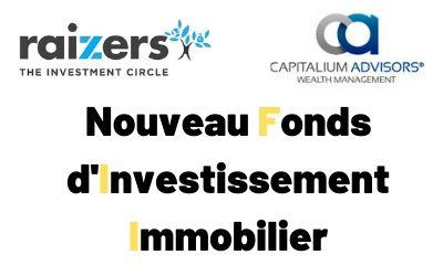 Raizers et Capitalium lancent un fonds d'investissement pour co-investir aux côtés des Crowdfunders