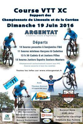 Championnats VTT Corrèze Limousin