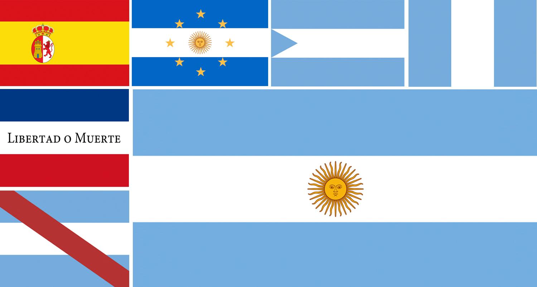 Banderas históricas de Argentina - Argentear 4a799716f1b