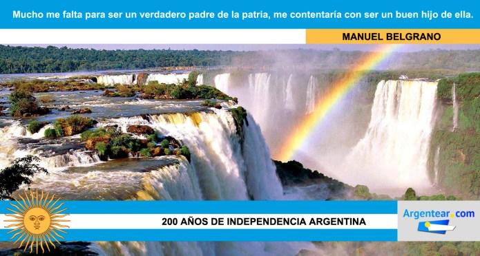 Frases independencia argentina