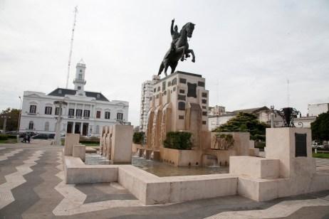 Plaza Municipal Azul