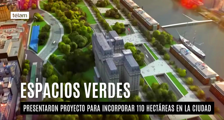Buenos aires sumar 110 hect reas de espacios verdes - Espacios verdes logrono ...