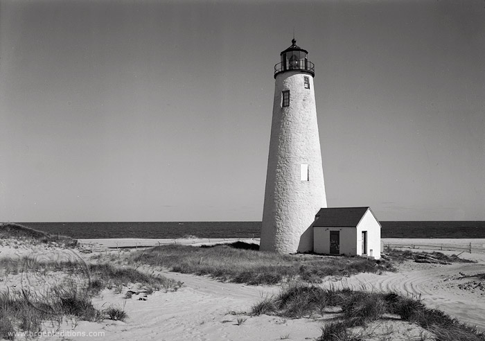 Lighthouses  Great Point Lighthouse Nantucket  Old