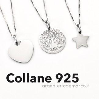 COLLANE DONNA ARGENTO 925
