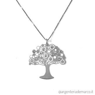 Collana Albero della Vita Argento 925
