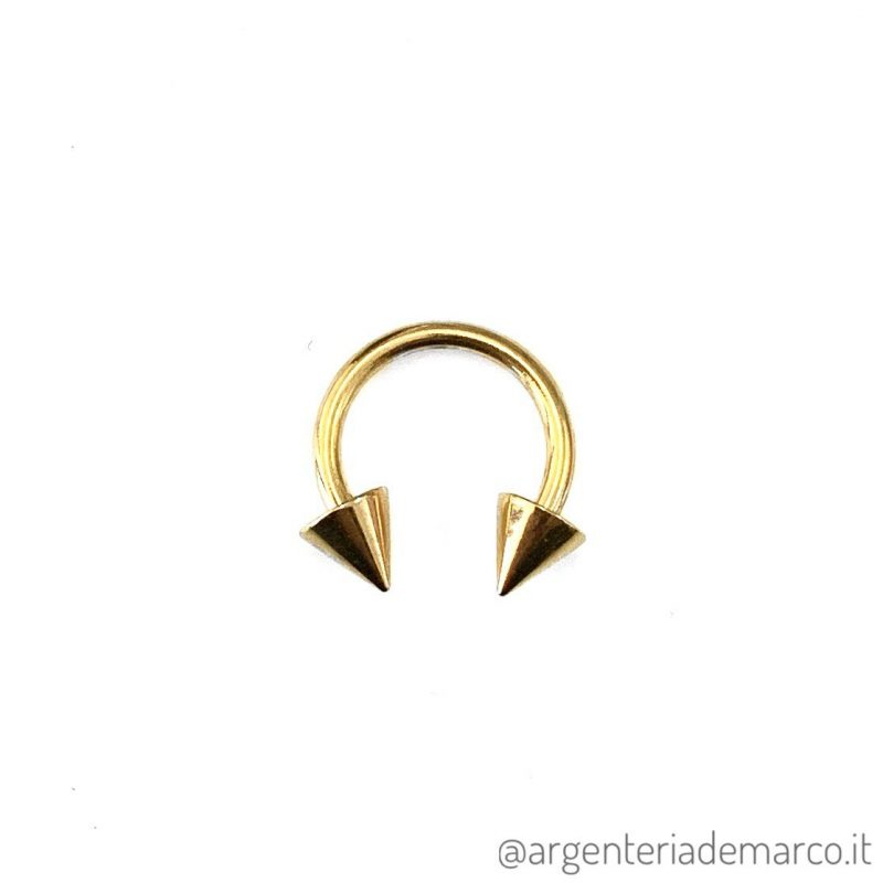 Piercing Cerchietto Oro