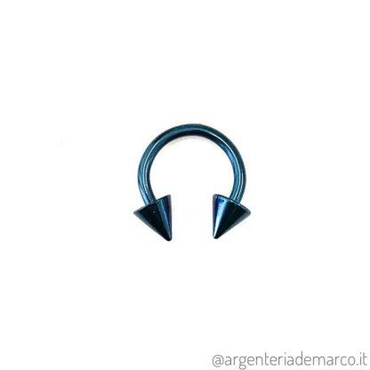 Piercing Cerchietto Blu