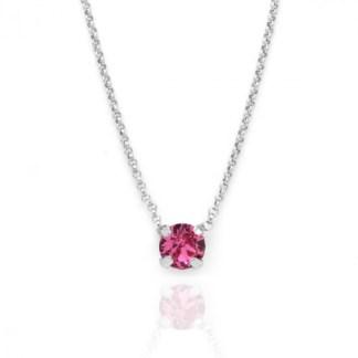 Collana Punto Luce Rosa A3289-04G