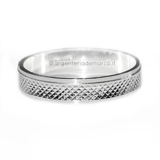 Anello in Argento 925 Diamantato