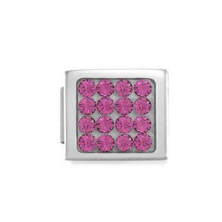 NominatioN Composable Glam Pavè Rosa