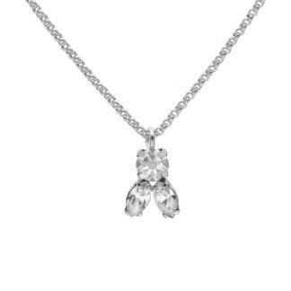 Collana Tre Cristalli A3924-07HG