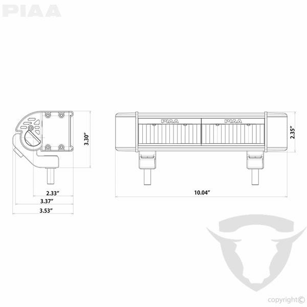 ACCESORIOS: RF10 LED White Long Range Driving Beam Kit