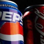 Publicidad de Coca Cola y Pepsi