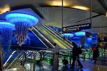estación metro dubai