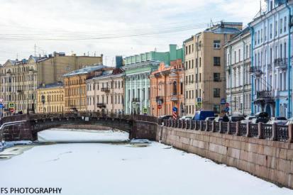 canales congelados san petersburgo