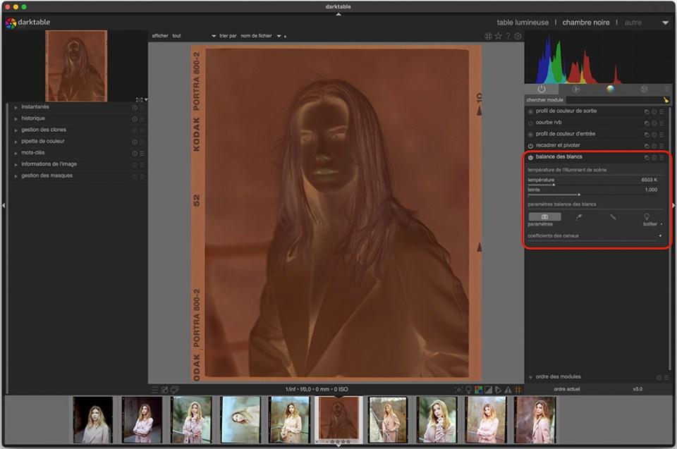 Scanner ses pellicules au top avec avec Epson Scan 2 et Darktable