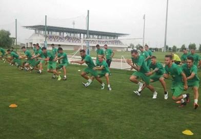 Fotbaliştii din Mioveni au revenit la antrenamente
