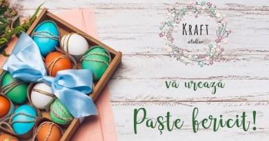 Ultima săptămână când puteți beneficia de oferta Kraft Atelier!