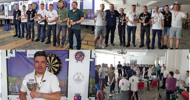 Finala Ligii Române de Darts s-a desfășurat la Mioveni. Află câștigătorii