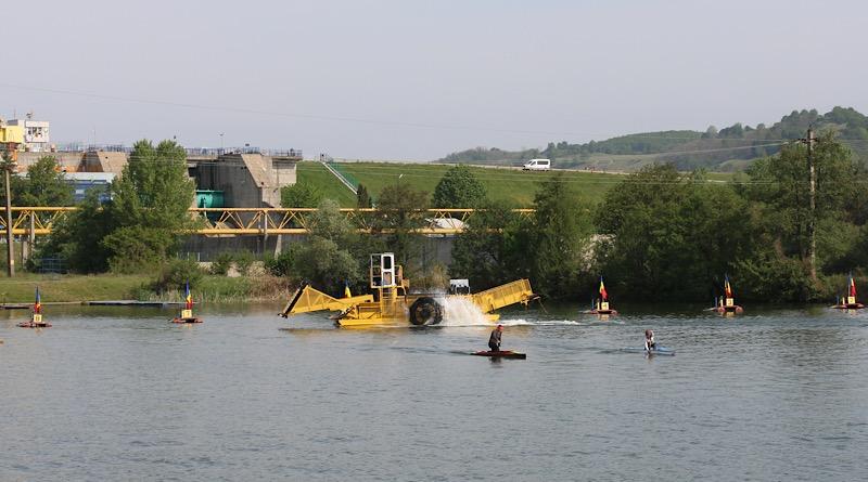 Administrația Bazinală de Apă Argeș – Vedea, lucrări pe lacul Bascov