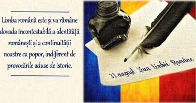 Ziua Limbii Române este sărbătorită în fiecare an, la 31 august