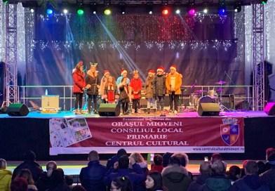 Super distracție la Târgul de Crăciun de la Mioveni! Live
