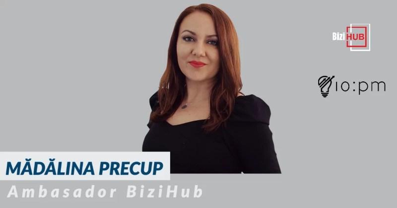 Mădălina Precup, ambasador BiziHub pentru Județul Argeș