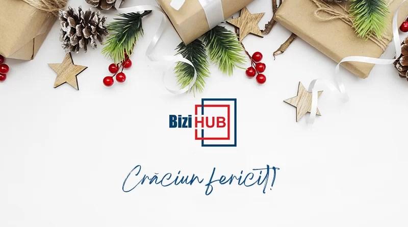"""BiziHub Argeș urează tuturor colaboratorilor și partenerilor """"Crăciun fericit"""""""