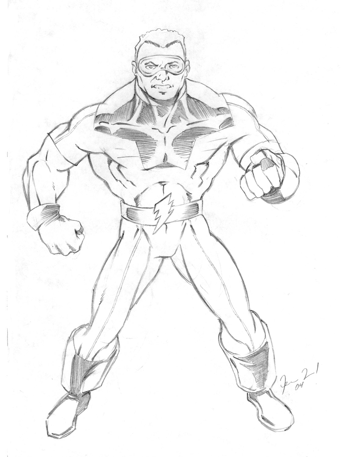 Thunder Man Coloring Pages Coloring Pages
