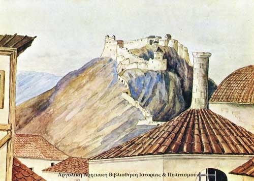Το Φρούριον Παλαμήδι , εν Ναυπλίω 1938