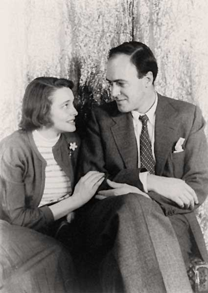 Roald Dahl and Patricia Neal