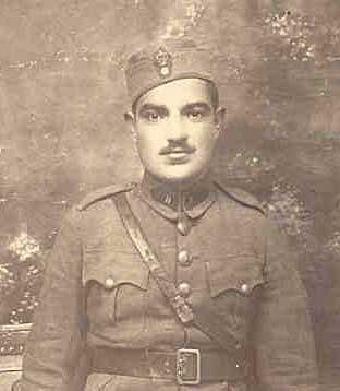 Δημήτριος  Σιώτος : Κληρωτός του 1936, έφυγε για το μέτωπο όπως χιλιάδες άλλοι πατριώτες με την επιστράτευση (28/10/1940).
