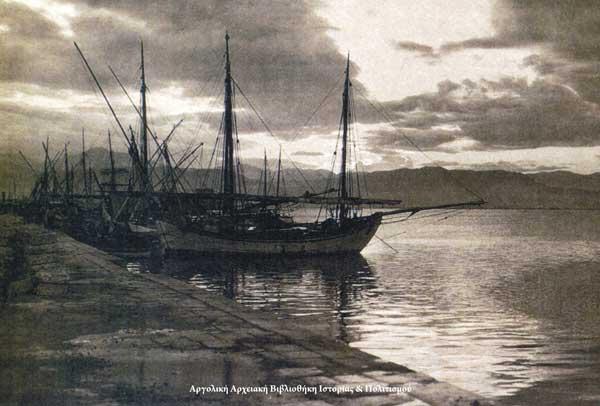 Το λιμάνι του Ναυπλίου - Frederic Boissonnas 1903