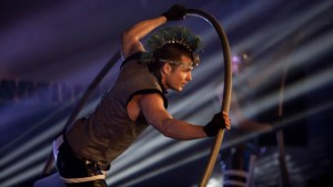 Acrobat in Cyr Wheel - Argolla Events and Entertainment