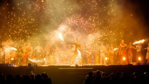 Fireshow and Pyroshow - Argolla Firedancers and Acrobats