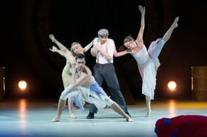 Dancers, Actors and Acrobats in Theatrical Circus Show Argolla