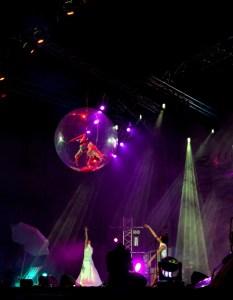 Dancer in Mystic Transparent Ball - Argolla Show