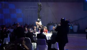 Aerial Bartenders - Acrobats and Guests - Event Show Argolla