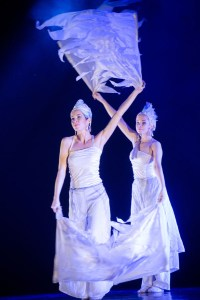 Dancers with Flags - Circus Costumes - Argolla Show