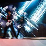 Visual Pixel Poi Show - Argolla dancer - corporate entertainment