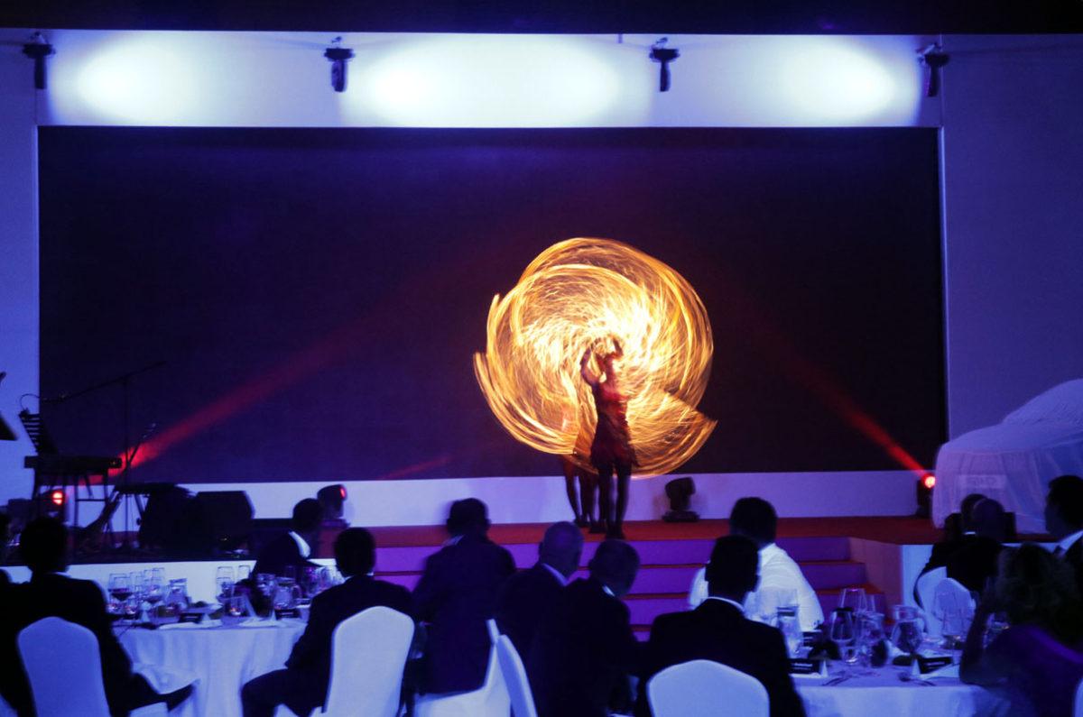 Fireshow - corporate event - car launch - Argolla productions