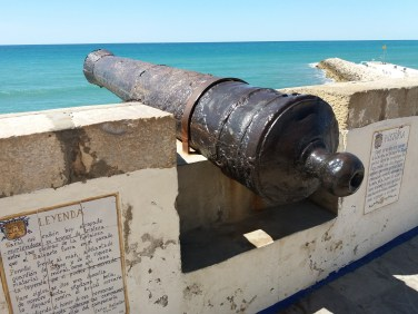 Sitges, Cannone