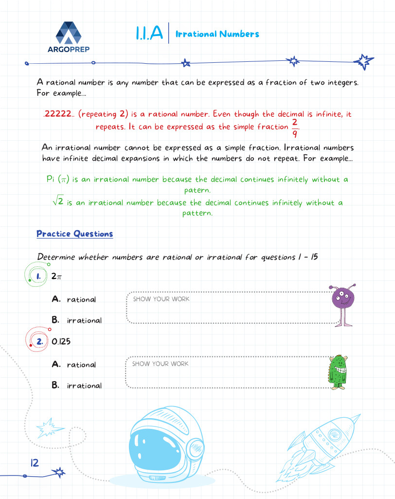 hight resolution of Introducing MATH! Grade 8 by ArgoPrep: 600+ Practice Questions - ArgoPrep
