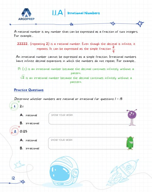 small resolution of Introducing MATH! Grade 8 by ArgoPrep: 600+ Practice Questions - ArgoPrep