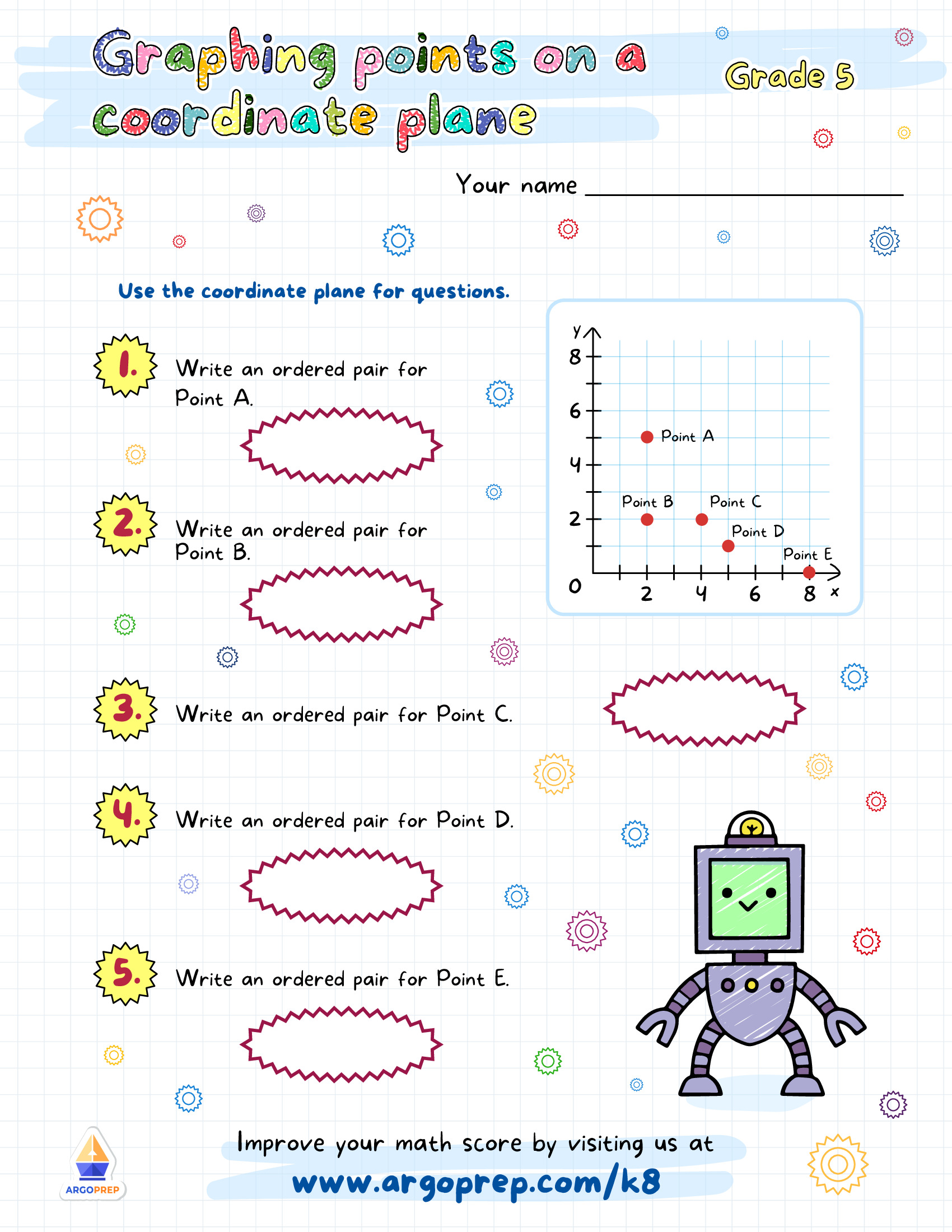 hight resolution of Great Graphing Robots Galore! - ArgoPrep