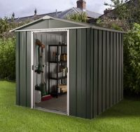 Argos Sheds Metal. Buy Deluxe Apex Metal Shed With Support ...