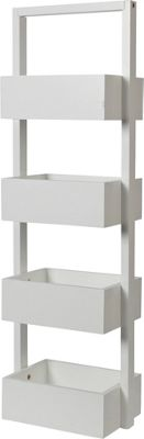 Buy Collection Freestanding Bathroom Storage Caddy - White ...