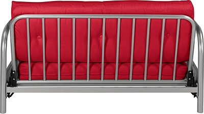 mexico futon sofa bed with mattress chocolate best 2017 buy colourmatch 2 seater - poppy red ...