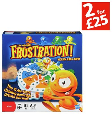 Buy Frustration Game From Hasbro Gaming At Argos Co Uk